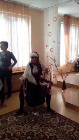 Баба Марта на гости на децата от ДГ 173 - 173 ДГ ЗВЪНЧЕ - София - Подуяне